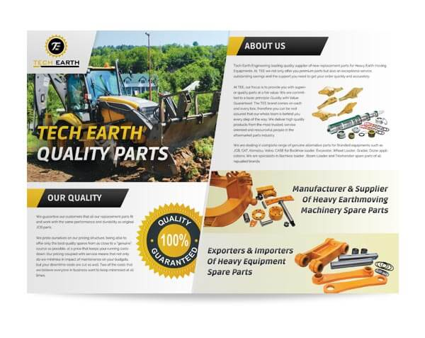 Tech Earth - Brochure Design