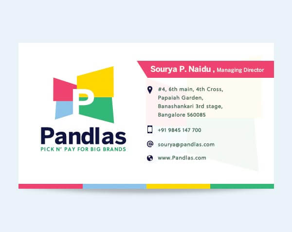 Pandlas - Business Card
