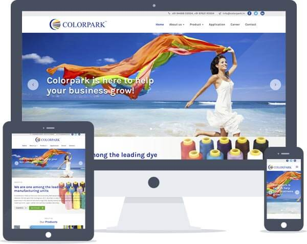 Colorpark - CMS Website Development
