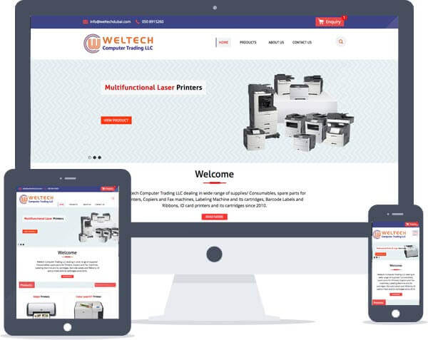 Weltech - Responsive Website Design, Web Development